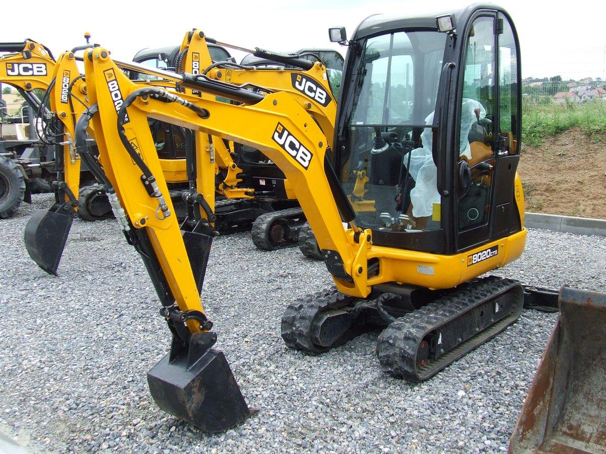 Mini Excavator JCB 8020